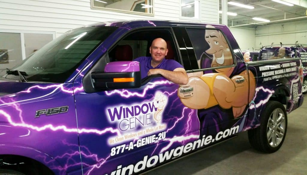 Pete Wilson, owner of Window Genie of West Chester